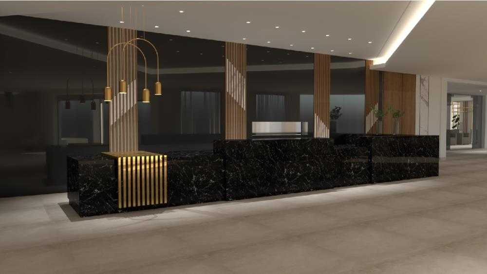 Planned renovation of LOBBY1