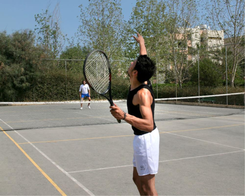 Atlantica Oasis Hotel Tennis Court