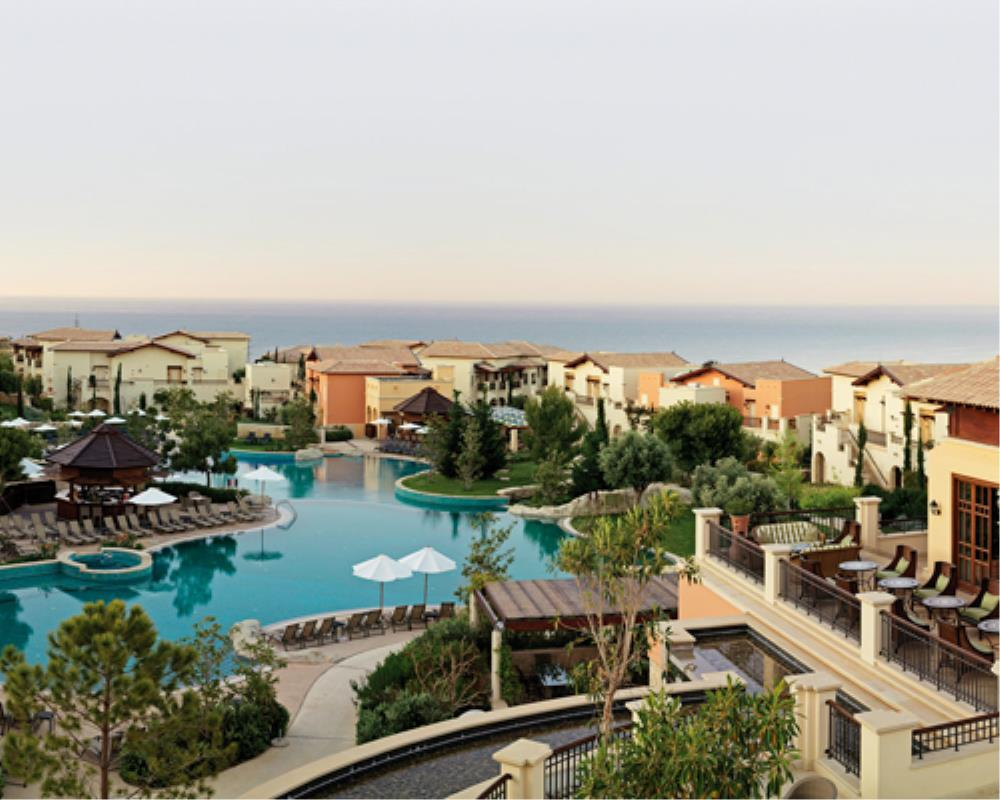 Intercontinental Aphrodite Hills Resort Hotel General View