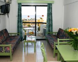 Livas Hotel Apartments Living Room