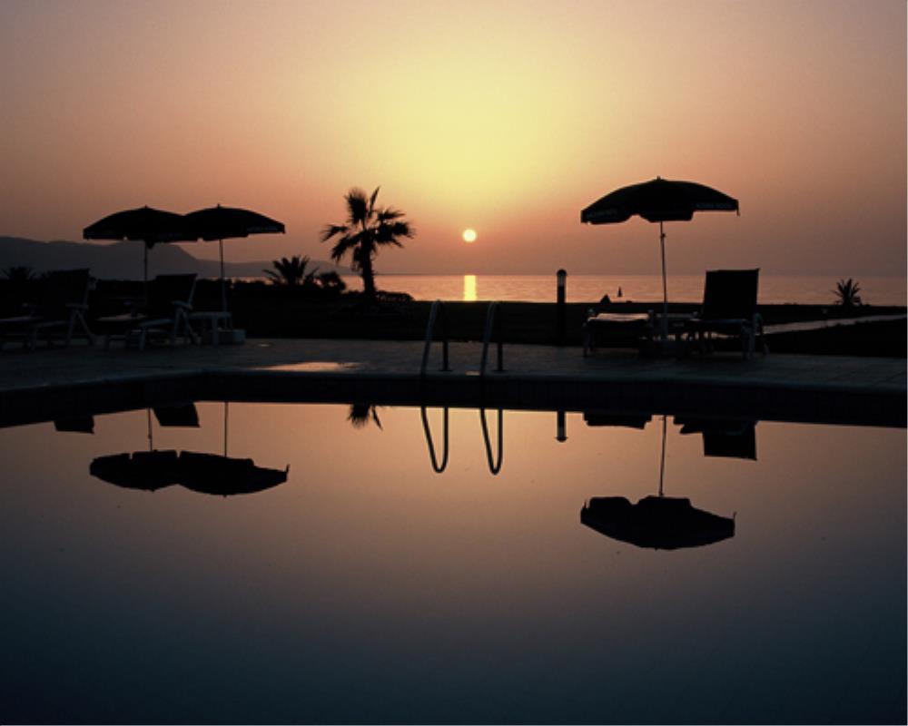 Sunset at Natura Beach Villas