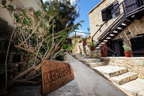 Leonidas Village Houses Entrance