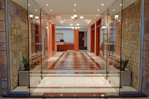 Pyramos Hotel Entrance