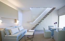 Duplex Garden Suite Living Room Ground Level