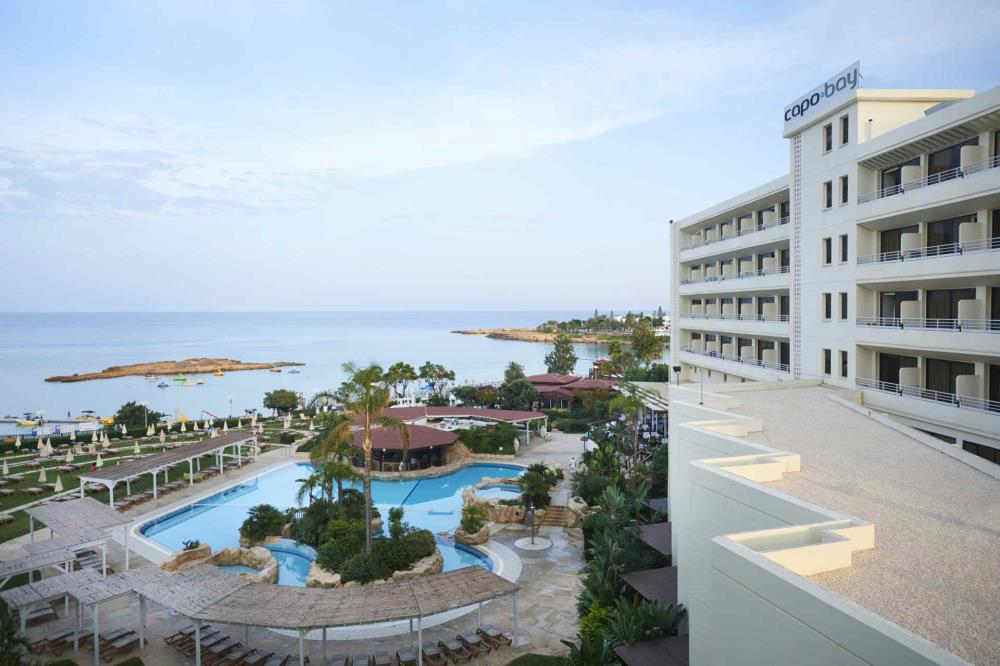 Panoramic View showing Hotel Building