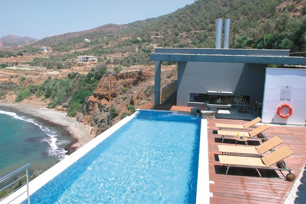 Aquamarine pool view