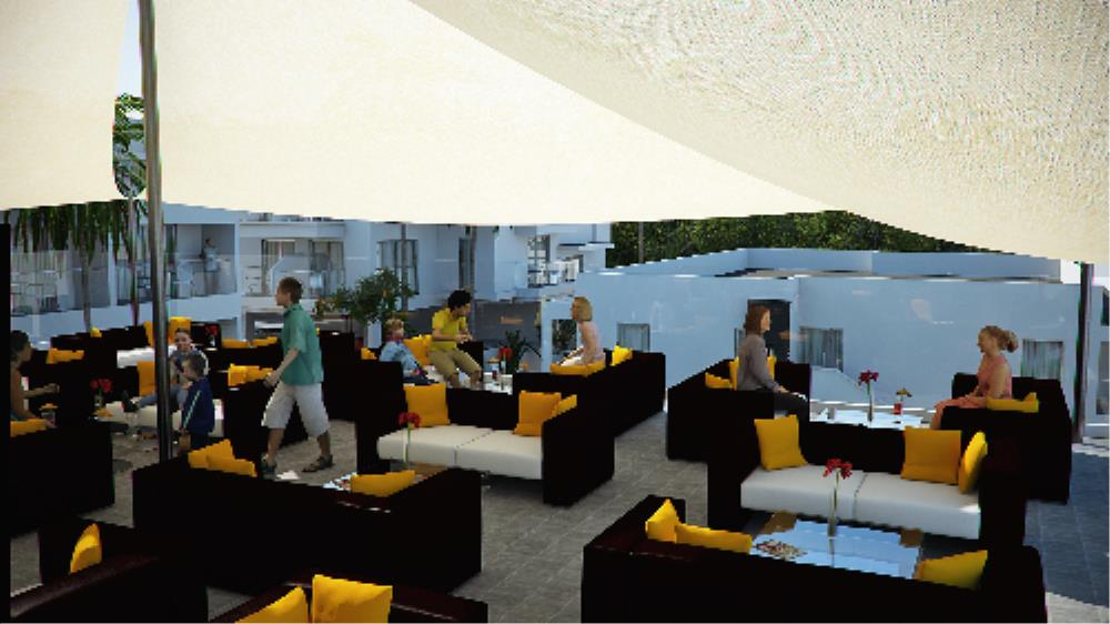 Tasia Maris Oasis Roof Garden Chill-Out Bar