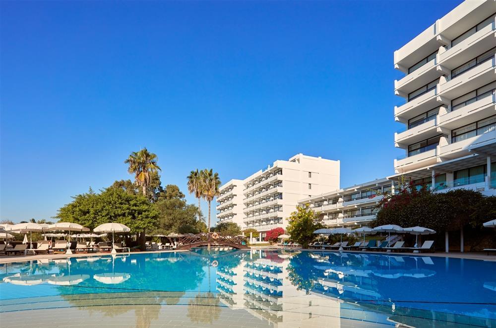 Grecian Bay Hotel -Pool and Hotel