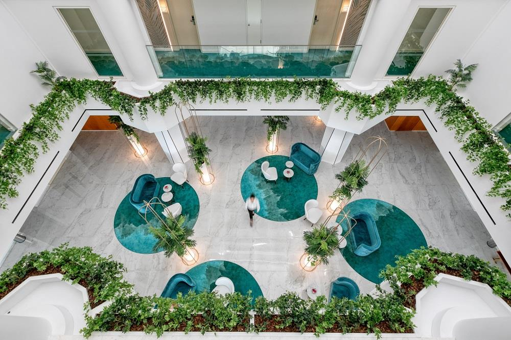 Lobby from Above