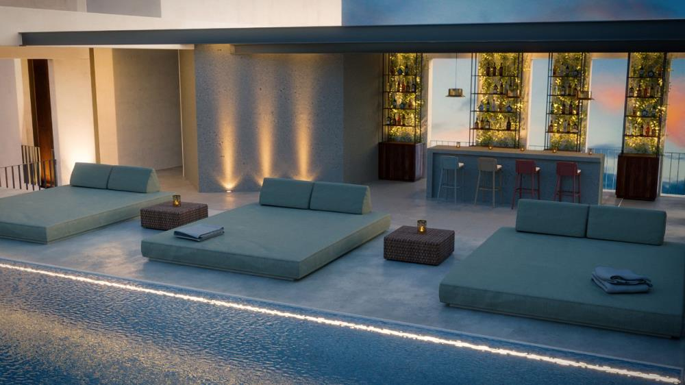 Alinea Suites Rooftop Pool - 11