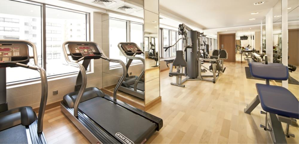 Oaks Liwa Executive Suites Gym